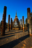 Sukhothai Sacred Sanctuary Royalty Free Stock Photos