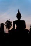 Sukhothai Schattenbilder. Lizenzfreies Stockbild