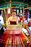 SUKHOTHAI, TAILANDIA 10 NOVEMBRE Lo stile di vita retro di simulazione e Fotografia Stock Libera da Diritti