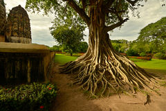 Sukhothai-Tempel lizenzfreies stockfoto