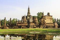 Sukhothai Tempel von Thailand lizenzfreie stockfotos