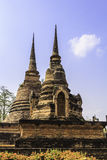 Sukhothai temple from thailand Stock Image