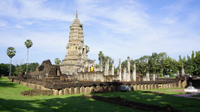 Sukhothai temple world heritage overall Royalty Free Stock Photography