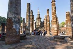 Sukhothai Thailand, an alter Hauptstadt Wat Mahathats von Sukhothai, Thailand Stockfotografie