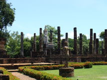 Sukhothai, Thailand. The ancient capital city of the Middle Empire of Sukhothai, Thailand stock image