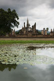 Sukhothai in Thailand. Historic park as landmark and travel destination Stock Image