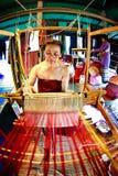 SUKHOTHAI, THAILAND 10. NOVEMBER Der Retro- Lebensstil des Simulierunges und Lizenzfreies Stockfoto