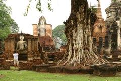 Sukhothai Thailand temples Stock Images