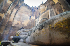 Sukhothai Thailand van Boedha Royalty-vrije Stock Afbeeldingen