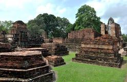 Sukhothai van Wat mahathat Stock Afbeelding