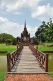 Sukhothai Wat mahathat Στοκ Εικόνα