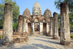 Sukhothai World Heritage Site and the related hist Royalty Free Stock Photo