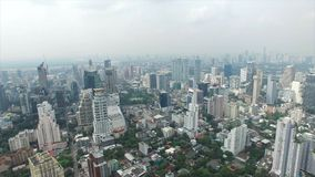 Sukhumvit在曼谷泰国 股票录像
