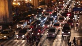 Sukhumvit路在曼谷 股票录像