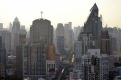 Sukhumvit budynki w Bangkok Obrazy Royalty Free