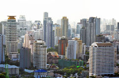 Sukhumvit buildings in Bangkok Stock Photos