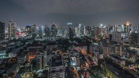 Sukhumvit district in Bangkok Royalty Free Stock Photos