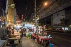 Sukhumvit Night Street Market Royalty Free Stock Image