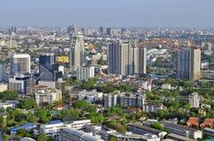 Sukhumvit pejzaż miejski w Bangkok Obrazy Royalty Free