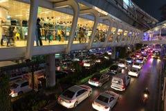Sukhumvit road in Bangkok Royalty Free Stock Image