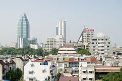 Sukhumvit skyline, Bangkok Royalty Free Stock Image