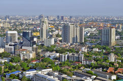 Sukhumvit-Stadtbild in Bangkok lizenzfreie stockbilder