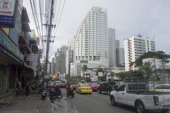 Sukhumvit  street view in  thailand. Stock Photography
