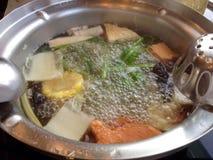 Suki en groenten Royalty-vrije Stock Afbeeldingen