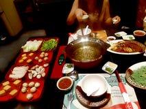 Suki es una comida popular en Asia foto de archivo libre de regalías