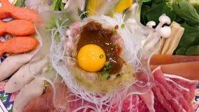 Suki ` s menu Zdjęcia Royalty Free
