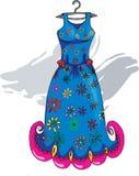 Sukienka ilustracji