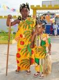 sukienka afryki Obrazy Royalty Free