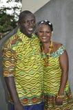 sukienka panafrykańskiego tradycyjne Zdjęcie Stock