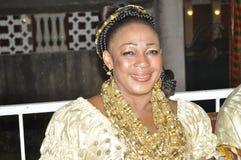sukienka panafrykańskiego tradycyjne Obrazy Royalty Free