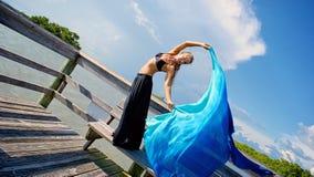 sukienna kobieta Obraz Royalty Free