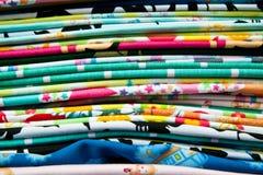 sukienna kolorowa bawełna Zdjęcie Stock