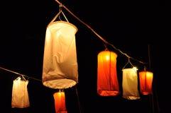 Sukienna lampa Obrazy Stock