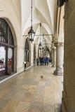 Sukiennice αιθουσών υφασμάτων στην Κρακοβία Στοκ φωτογραφία με δικαίωμα ελεύθερης χρήσης