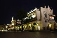 Sukiennice - Κρακοβία Στοκ φωτογραφίες με δικαίωμα ελεύθερης χρήσης