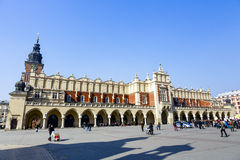 Sukiennice, Cloth Hall in Krakow Stock Image