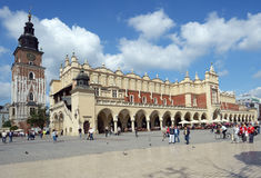 Sukiennice, Cloth Hall in Krakow, Poland Royalty Free Stock Photos