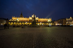 Sukiennice, the Cloth Hall - a landmark of Rynek (the market squ Royalty Free Stock Image