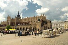 Sukiennice de Krakow imagens de stock