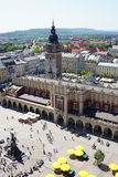 The Sukiennice in Krakow Stock Photography