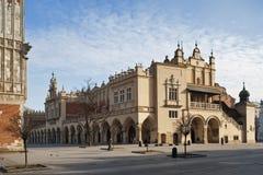 Sukiennice in Krakow, Poland royalty free stock photo