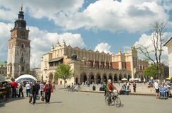 Sukiennice in Krakow Stock Photography