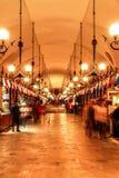 Sukiennice market in night. Cracow. Poland Stock Image