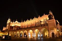 Sukiennice sławny punkt zwrotny w Krakow obraz stock