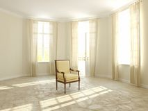 Sukienny krzesło Fotografia Royalty Free