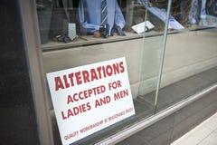 Sukienny sklep w Chicago Obraz Stock